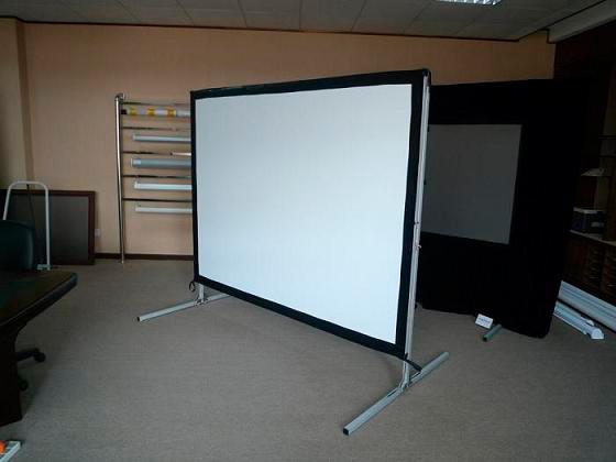 Como armar estructura de pantalla translucida para proyector for Pantalla para proyector