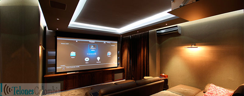 Blog telones colombia instalaci n y domicilios de pantallas para video proyectores bogota - Proyector cine en casa ...
